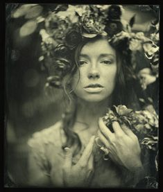 I'm a sucker for wet plate #photography. This portrait from Mark Sink is absolutely stunning.
