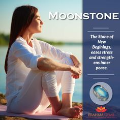 Moonstone is known as the psychic's gemstone  & is the strongest gemstone bringing good fortune, promotes inspiration & brings success in love.