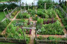 Kitchen garden in Austria Garden ArtVegetables