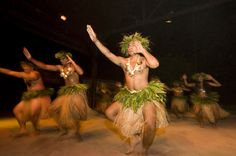 While visiting the islands, be sure to include a night of Tahitian dancers