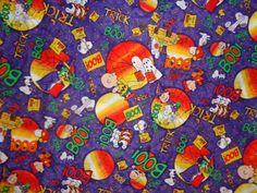 He encontrado este interesante anuncio de Etsy en https://www.etsy.com/es/listing/223947541/purple-peanuts-halloween-cotton-fabric