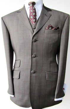 Adam of London, often imitated never equalled, the ultimate 1960s style, authentic menswear, suits in a variety of styles and colours, available wholesale and export, enquiries welcome