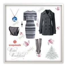 """""""snapmade"""" by merisa-imsirovic ❤ liked on Polyvore featuring Lands' End, SOREL and GUESS"""