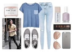 """""""Casual Day Out w/ Harry"""" by eclipsestyles ❤ liked on Polyvore featuring MANGO, Vans, Native Union, H&M, Forever 21 and Herbivore Botanicals"""