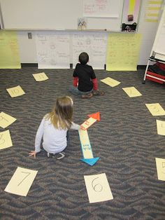 Mrs. T's Second Grade: Telling Time: Human Clock