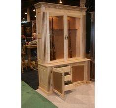 Custom Made Gun Cabinet