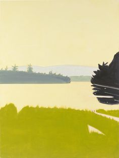 Alex Katz, 4:30 PM, 2008, Oil on linen, 96 x 72 inches, Photo by: Kerry Ryan McFate / Courtesy The Pace Gallery, New York, (c) Alex Katz / Licensed by VAGA, New York, NY