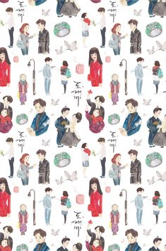 Discover recipes, home ideas, style inspiration and other ideas to try. Goblin Kdrama Fanart, Goblin Wallpaper Kdrama, Ost Goblin, Goblin Art, Kpop Drawings, Cute Drawings, Moon Lovers, Lovers Art, Strong Woman Do Bong Soon Art
