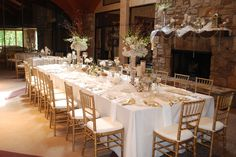 Head table for 20!