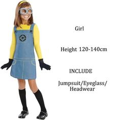 Family Halloween Costumes Men Adult Women Kids Minions Children