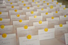 Love the cards and the buttons. Wedding Colors, Wedding Ideas, Seating Cards, Marrying My Best Friend, Bat Mitzvah, Event Ideas, Table Numbers, Marry Me, Happily Ever After