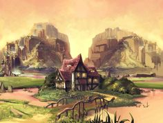 fairytale project house by Abuze.deviantart.com on @deviantART