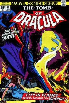 "Tomb of Dracula #27 - ""Night-Fire!"" (Issue)"
