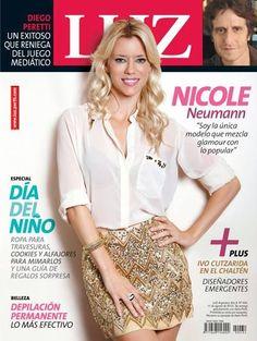 Luz Magazine [Argentina] (11 August 2013) Nicole Neumann