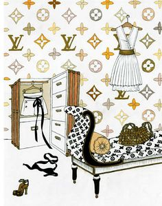 louis vuitton free printable papers printables in 2018. Black Bedroom Furniture Sets. Home Design Ideas