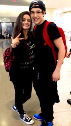 Austin Mahone and Camila Cabello