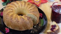 Weihnachtsbrot - Rezept von Lila Kuchen Bagel, Bread, Chef, Advent, Hotels, Food, Search, Yogurt, Purple Cakes