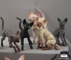 Lots of new dolls in Store: store.evethecat.com/