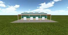 Cool 3D #marketing http://ift.tt/2sUjai0 #barn #workshop #greenhouse #garage #roofing #DIY