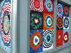 bottle cap mural #cap