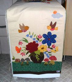 """Lu Art""""S - Capa para máquina de lavar roupas ou secadora"""