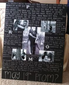 Adorable promposal