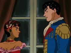 Casca and Guts at the ball