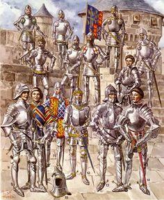 Evolution of English armour 1415 - 1475