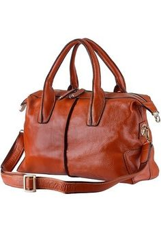 Top Handle Brown Bag $80 on @ClozetteCo