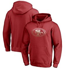 San Francisco 49ers NFL Pro Line by Fanatics Branded Gradient Logo Pullover Hoodie - Red