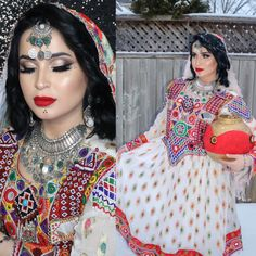 Chanya Choli, Afghani Clothes, Wedding Eye Makeup, Afghan Girl, Afghan Dresses, Designs For Dresses, Types Of Dresses, Western Outfits, Afghans