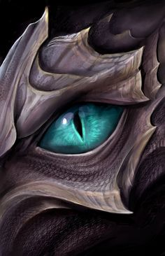 Dragon eye by TatianaMakeeva.deviantart.com on @DeviantArt