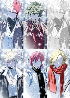 Characters: Todoroki Shouto, Midoriya Izuku, Katsuki Bakugou, Kaminari Denki