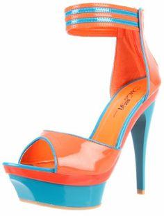 Wild Rose Women's Avila01 Platform Sandal