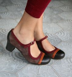 Zita Brown shoes by Chie Mihara