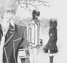 """I'm always watching you watching him."" The Vampire Knight Love Triangle."