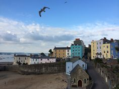 Tenby, Wales #tenby #wales Wales, Explore, Mansions, House Styles, Manor Houses, Welsh Country, Villas, Mansion, Palaces