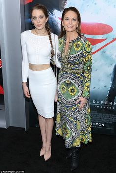 Like mother, like daughter: Diane Lane looked fantastic while accompanied by daughter Elea...