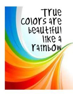 Cindi Lauper - True Colors - song lyrics, music, quotes