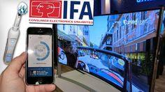 TRENDS IFA 2014 Smarte Zahnbürsten und scharfe Fernseh-Riesen