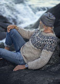 Ravelry: Steinkriger (Norwegian Lopapaysa) pattern by Katrine Hammer Fair Isle Knitting Patterns, Sweater Knitting Patterns, Knitting Socks, Norwegian Clothing, Mens Knit Sweater, Nordic Sweater, Icelandic Sweaters, Aran Sweaters, Norwegian Knitting