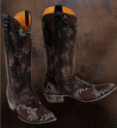 Why, oh why, do I love Old Gringo boots so much when I could never, ever, ever, ever justify spending the money on them? These are so me...