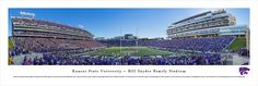 Kansas State K-State Wildcats Panoramic - Bill Snyder Family Stadium Picture $29.95