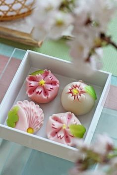 Wagashi (和菓子 wa-gashi?) is a traditional Japanese confectionery which is often served with tea, especially the types made of mochi, anko (az...