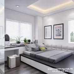 Thiết kế nội thất chung cư Lexington Residence gia đình chị Vân - Thiết kế nội thất nhà đẹp - Homedesign360