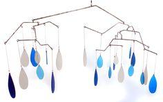 Artisan Made Blue Mobile Ceiling Art