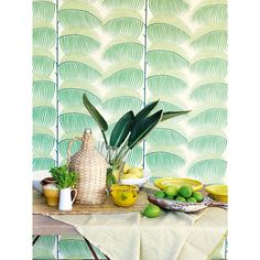 Manila wall covering - Sanderson