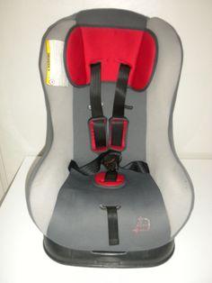 Siege auto groupe 0/1 de la naissance à 18 kg rouge gris voiture Auchan bébé bb