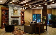 decoración de interiores cálida