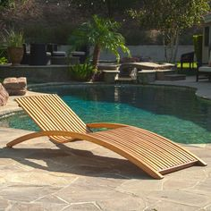 Christopher Knight Home Salinas Outdoor Wood Chaise Lounge (Coffee), Brown, Patio Furniture Patio Chaise Lounge, Patio Rocking Chairs, Patio Seating, Lounge Chairs, Pool Chairs, Family Room Furniture, Outdoor Furniture, Outdoor Decor, Yard Furniture